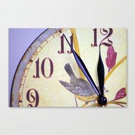 Die Zeit Canvas Print