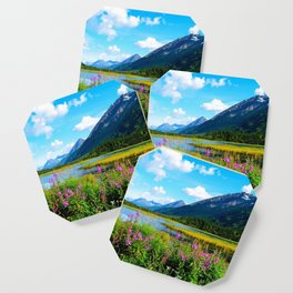 God's Country - Summer in Alaska Coaster