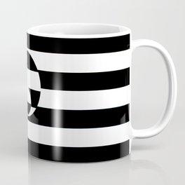 B&W Stripe Disco Coffee Mug