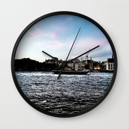 A London Love Story Wall Clock