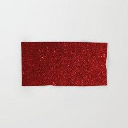 Garnet January Aquarius Birthstone Shimmering Glitter Hand & Bath Towel