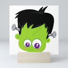 Cute Frankenstein Monster Mini Art Print