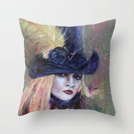 Stevie Nicks My Heart Throw Pillow