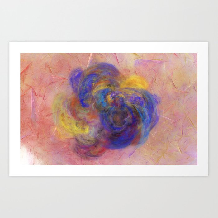 Love of Colours Art Print