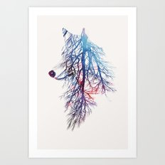 My roots Art Print