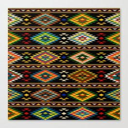American Indian seamless pattern Canvas Print