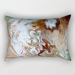 Milk Chocolate with peppermint & cream 3 Rectangular Pillow