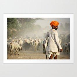 The Shepherd Art Print