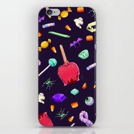 Halloween Candy Pattern iPhone Skin