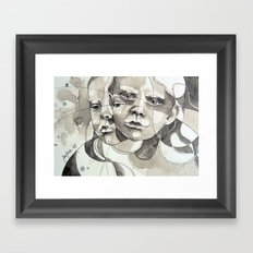 Made of two Framed Art Print