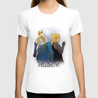 fullmetal T-shirts featuring Fullmetal by Witchy