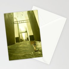 Alone in the cold Stationery Cards