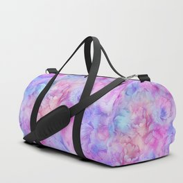Painted Anemone Flowers Duffle Bag