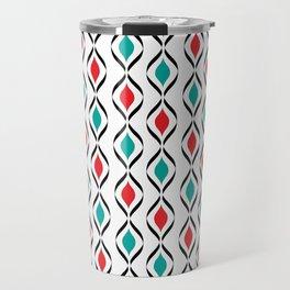 Retro Fun Pattern Travel Mug