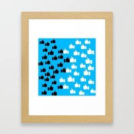1, 2, 3, 4, I declare... Framed Art Print