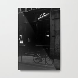 Noir Paris IV Metal Print