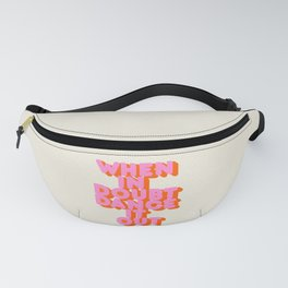 Dance it out Fanny Pack