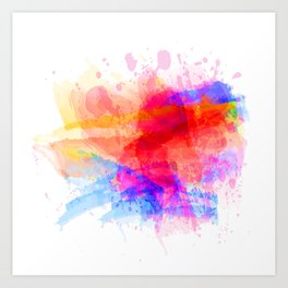 Paint it #color 1 Art Print