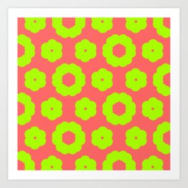 corail and anis Art Print