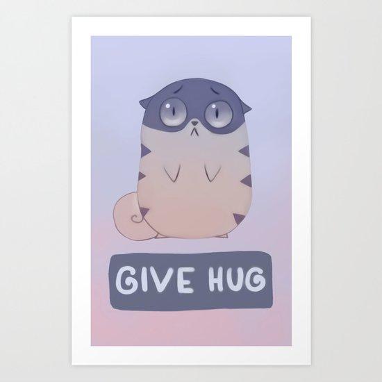 Boggart Hug Art Print