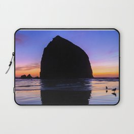 Haystack Rack Sunset Laptop Sleeve