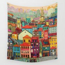 porto, portugal Wall Tapestry