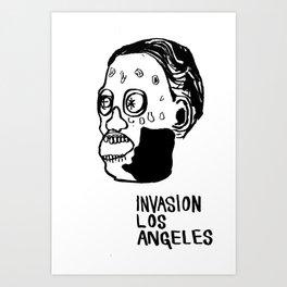 Invasion Los Angeles Art Print