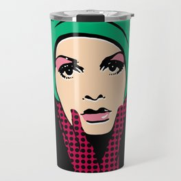 """Twiggy Pop Color"" Travel Mug"