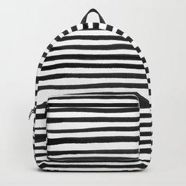 Ink Stripes Pattern Backpack