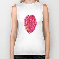 artsy Biker Tanks featuring Artsy Heart by Ingrid Padilla