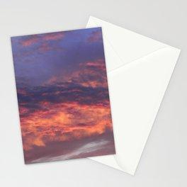 Sunset - Volcano Sky Stationery Cards