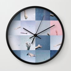 without saying goodbye Wall Clock
