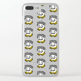 Face Phase: Albert Clear iPhone Case