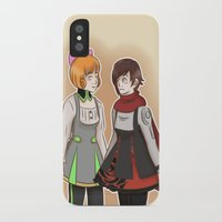 rwby iPhone & iPod Cases featuring Nuts and Dolts by TheKingKez