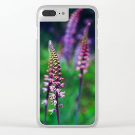 Wild Springtime Lilies Clear iPhone Case