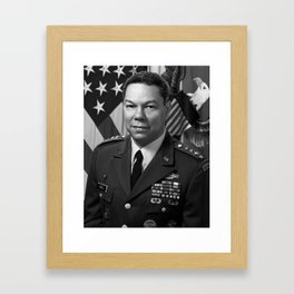 General Colin Powell Framed Art Print