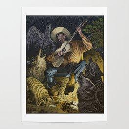 Campfire Serenade Poster