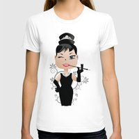 audrey T-shirts featuring Audrey by 7pk2 online