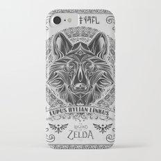 Legend of Zelda Twilight Wolf Link Line Art iPhone 7 Slim Case