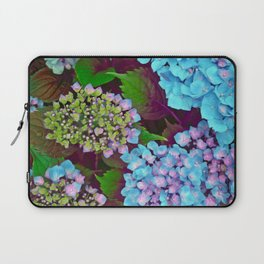 Hydrangea Pink and Blue Laptop Sleeve