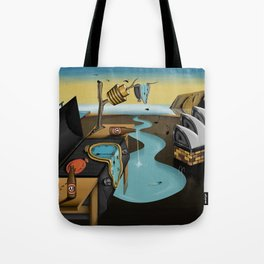 Where Time Stands Still - Surreal Sydney  Tote Bag