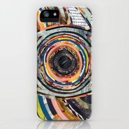 Rainbow Eyes Collage iPhone Case