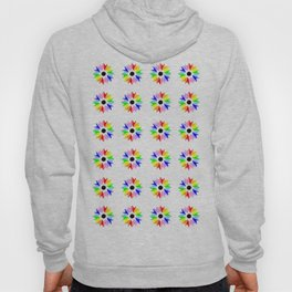 symmetric patterns 115 multicolor Hoody