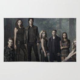 The Vampire Diaries Cast Rug