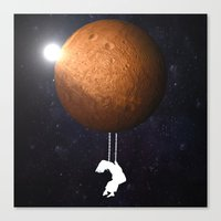 mars Canvas Prints featuring Mars by Cs025