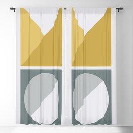 Geometric Form No.4 Blackout Curtain