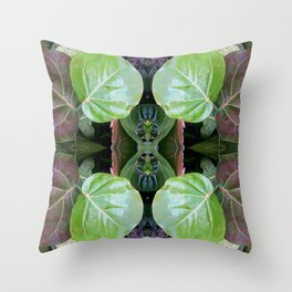 Sea Grapes Pattern Throw Pillow