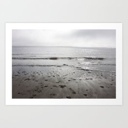 Broughty Ferry beach 3 Art Print