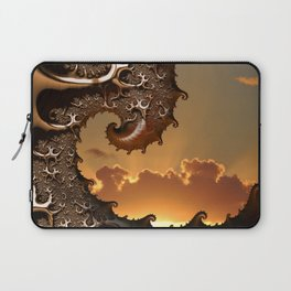Golden Sunrise in Byron Bay Laptop Sleeve