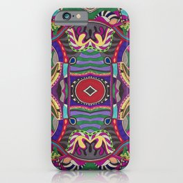 Psychedelic Daze iPhone Case